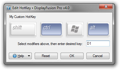 Key Assignment for HotKeys
