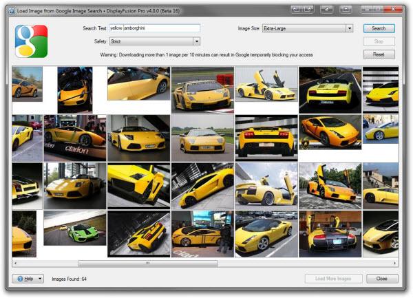 Wallpaper Provider: Google Image Search