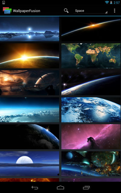 Space Image Search