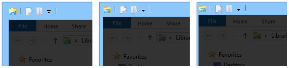 Windows 8 Tweak: Resize Window Borders