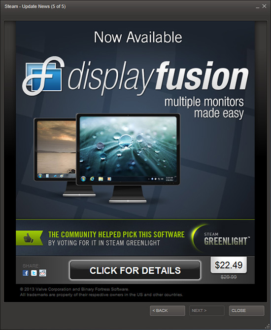 DisplayFusion on Steam