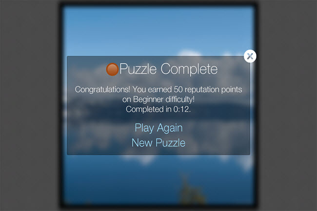 Completed Puzzle