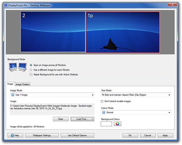 Windows 8 Portable DisplayFusion full