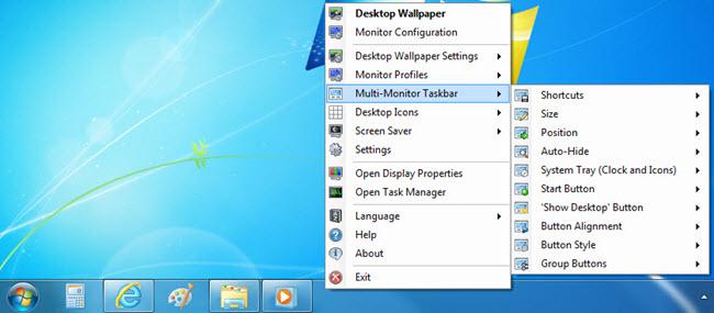 Per-Taskbar Settings