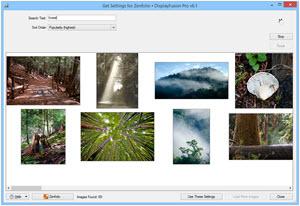 Online Wallpaper Provider: Zenfolio