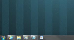"""Pinned"" shortcuts on the DisplayFusion Taskbar"