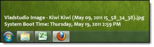 "Custom ""Image Info"" Text on the Desktop"