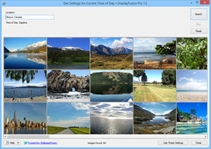 Online Wallpaper Provider: Current Time of Day