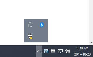 [系統通知區域]<br/>在 DisplayFusion 工作列