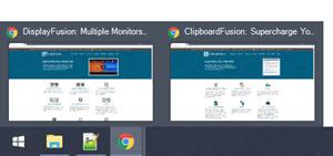Taskbar Button Previews (hover)