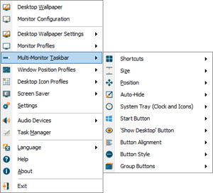 Multi-Monitor Taskbar