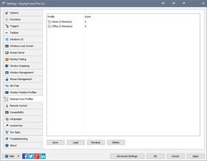 Desktop Icon Profiles