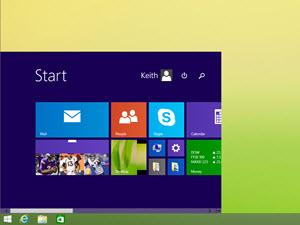 Windows 8 調整: 小型 [開始] 畫面