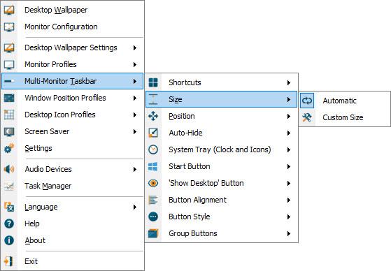 displayfusion taskbar not showing