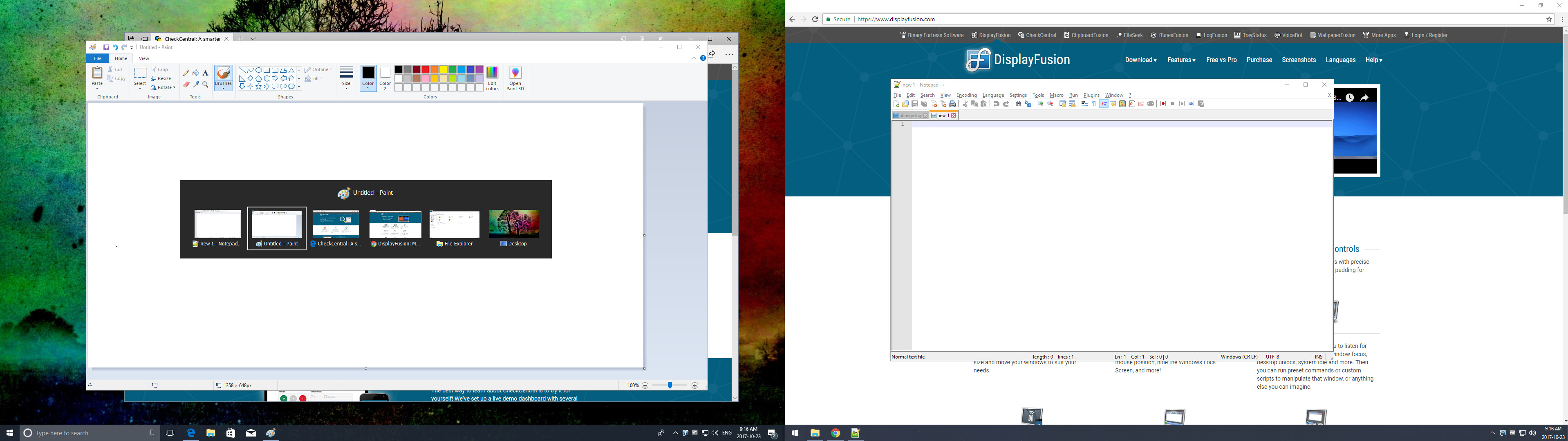 Alt+Tab Handler: Show on Current Monitor