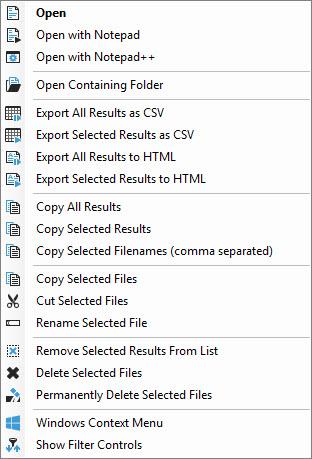 FileSeek screenshot