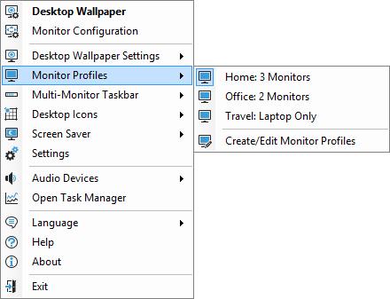 Monitor Profiles