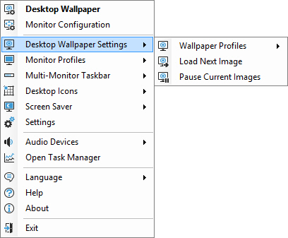 Desktop Wallpaper Settings
