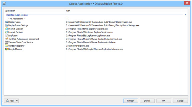 Select Application