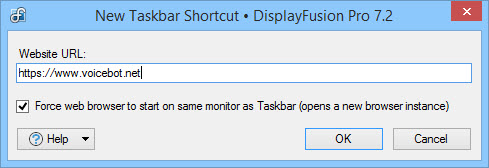 Edit Website Shortcut