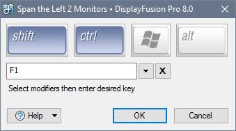 Edit Key Combination