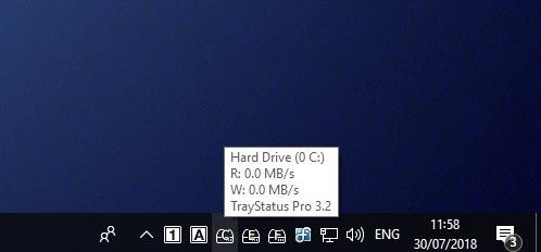Full TrayStatus screenshot