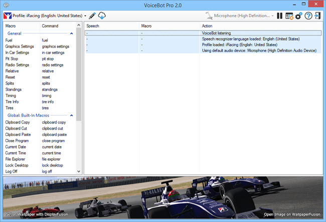 VoiceBot full screenshot